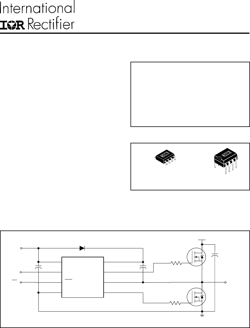 ir2104strpbf pdf下载及第1页内容在线浏览