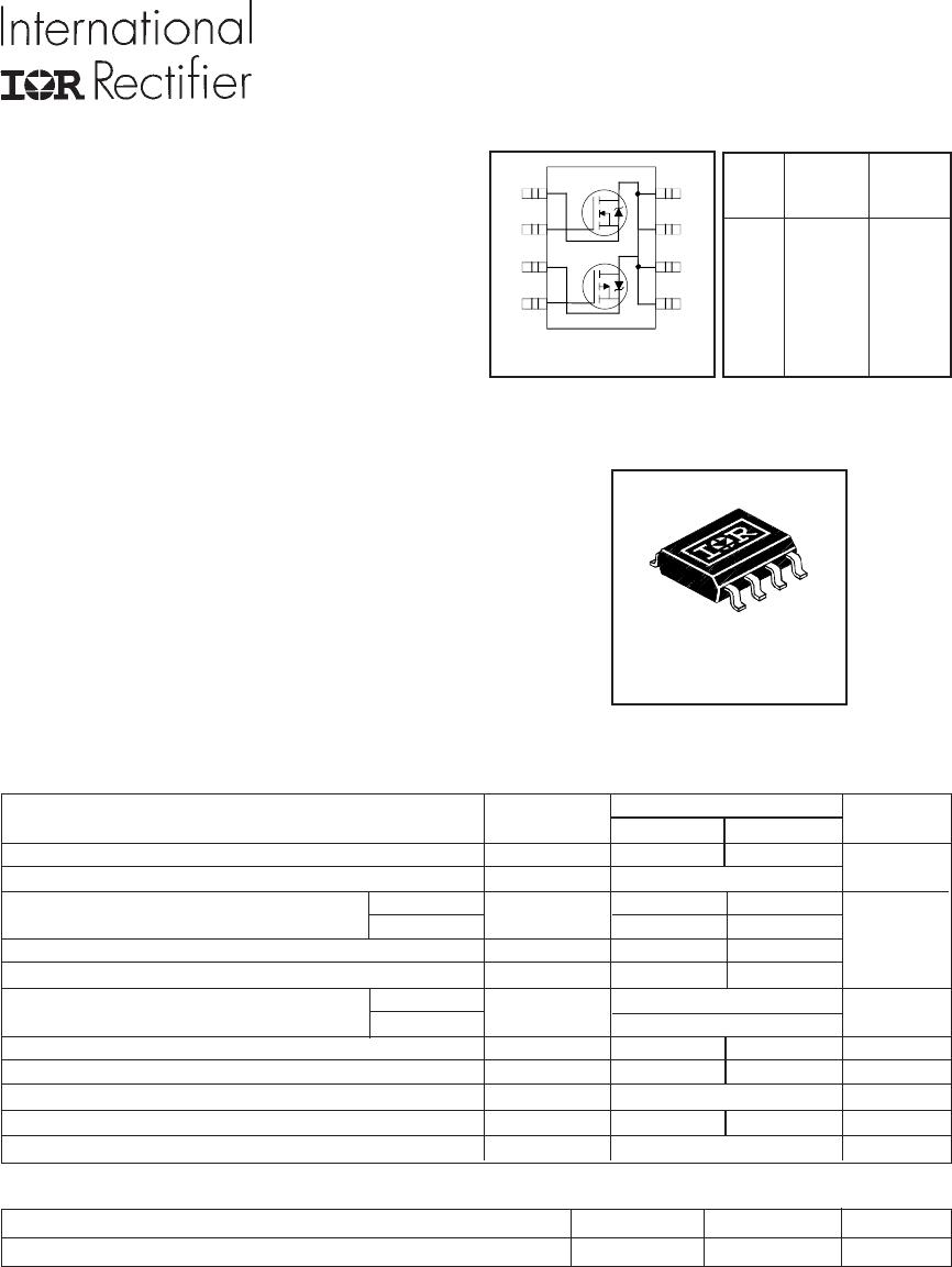 irf7389trpbf pdf下载及第1页内容在线浏览