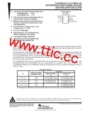 tlc04cdg4 pdf下载及第11页内容在线浏览