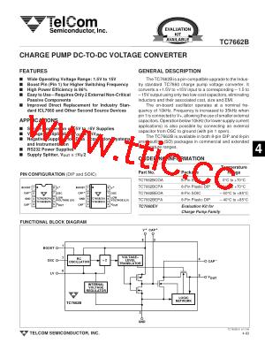 tc7662bcpa pdf下载及第8页内容在线浏览